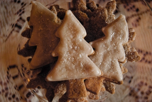 Gluten-free and perfectly seasonal ginger cookies by Lael Cakes!
