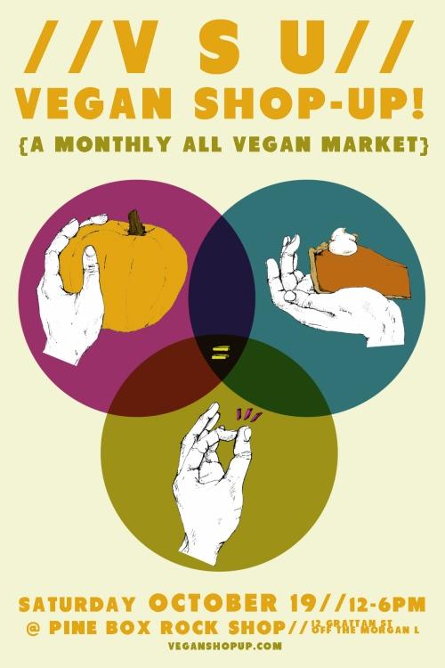 OH SNAP! Vegan Shop-Up!