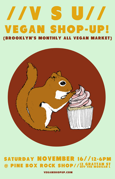 HEY THANKS! Vegan Shop-Up!