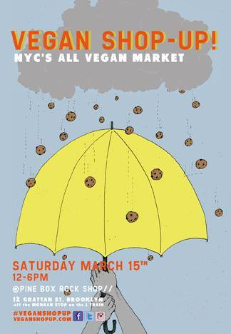 MARCH RADNESS! Vegan Shop-Up!