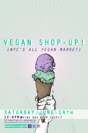 Summers Not Bummers! Vegan Shop-Up!