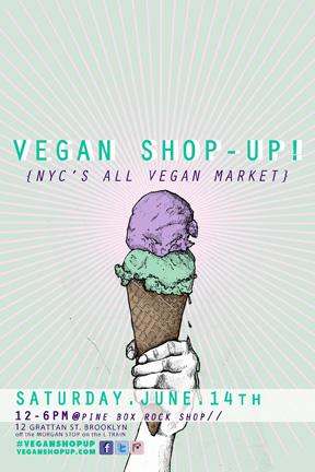 Summers Not Bummers! Vegan Shop-Up!