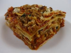 Vegan Meat Lasagna!