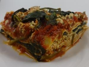 Spinach Lasagna!