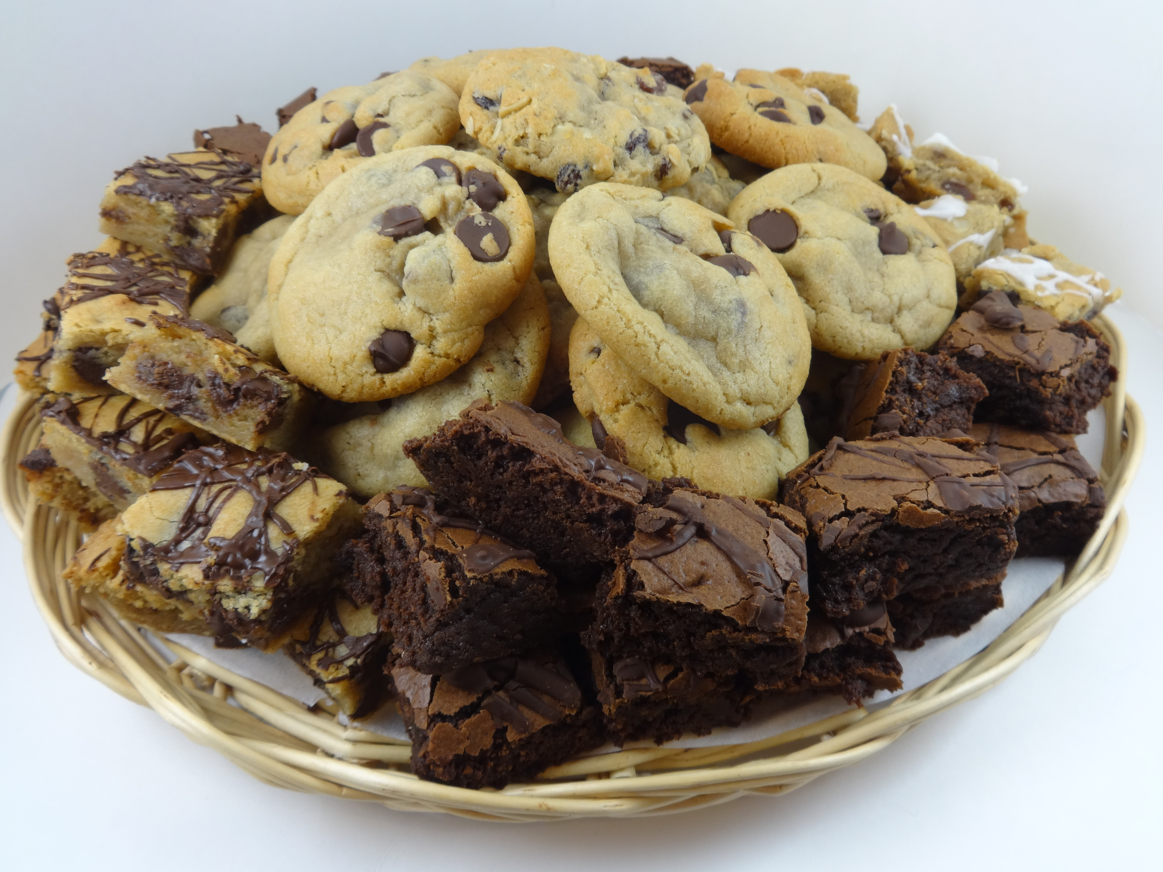 Cookies Brownies Delivery Cookie And Brownie Platter