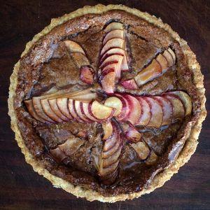 pecan apple tart