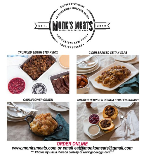 Monks Meats Thanksgiving!